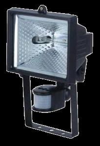 Halogen with Sensor